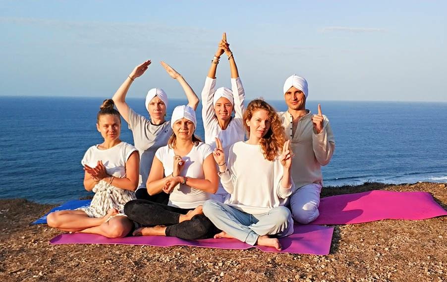 Кундалини йога-ретрит